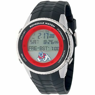 - NEW Game Time COL-SW-FRE Men's Fresno State University Schedule Digital Watch