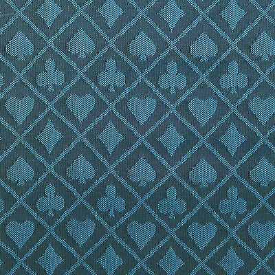 PRO Suited Speed Cloth for Poker Tables - Two-Tone Blue (6 Feet) - Casino Table Cloths