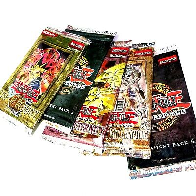 YUGIOH Combo 5-Pack Lot CLASSIC Promo BOOSTER Packs FREE SHIPPING