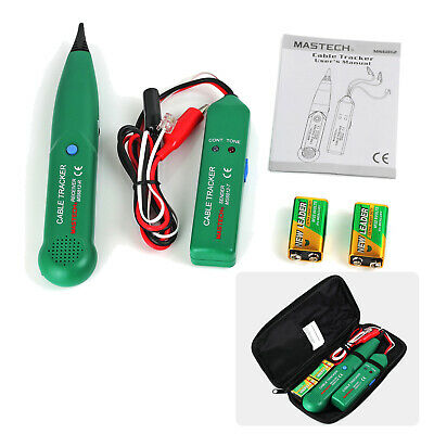 Telephone Network Tester Cable Tracker Generator Wire Finder Tracer Toner W Bag