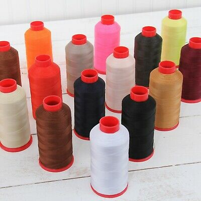 BONDED NYLON SEWING THREAD #69 CONES TEX70 UPHOLSTERY CANVAS LEATHER OUTDOOR  -