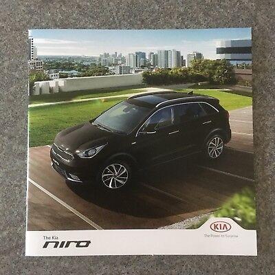 KIA - Niro UK Sales Brochure 2017