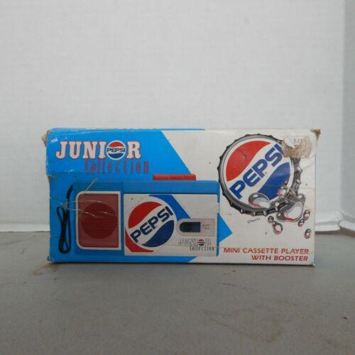 Pepsi Cassette Player Junior Collection Model PC-108, Advertising