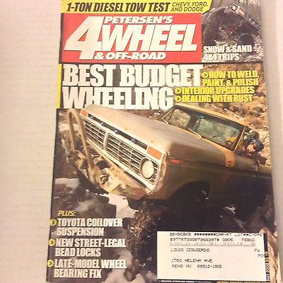 4 Wheel & Off Road Magazine Best Budget Wheeling May 2008