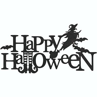 Happy Halloween Dxf Sign Plasma Laser Waterjet Router Vector Cnc Metal Cut File