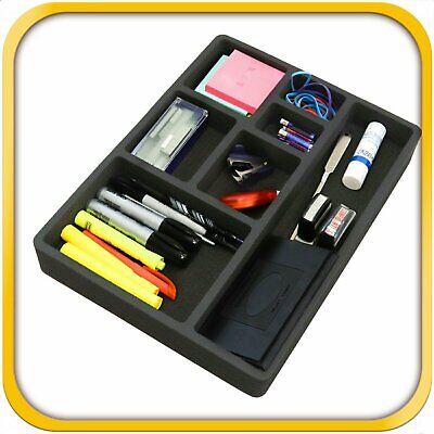 Desk Drawer Organizer Insert Home Or Office 7 Slot 15.9 X 11.9 No Rattle