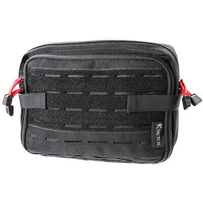 Tactical Molle Large Admin Pouch Utility Medical Battle Belt Military Black Bag