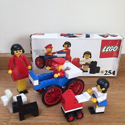 Vintage 70s Lego Family 254 Set BOXED + COMPLETE