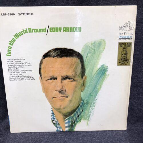 EDDY ARNOLD - TURN THE WORLD AROUND - VINYL LP - $4.00