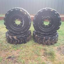 Bobcat Skid Steer Tyres - Traxter Solid Tyres Stawell Northern Grampians Preview