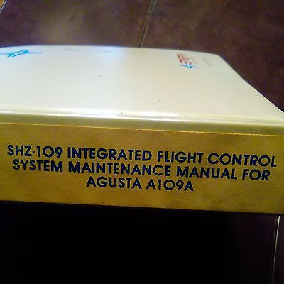 Sperry SHZ-109 IFCS in Augusta A109A Maintenance Manual
