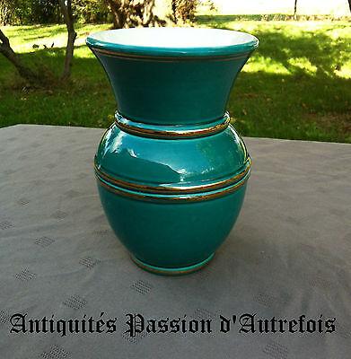 B20121173 - Petit vase en faïence VERCERAM - France