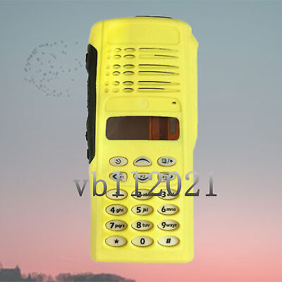- Replacement Repair Yellow Housing Case full keypad kit MOTOROLA HT1250 Radio