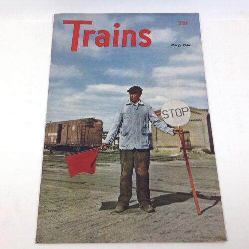 Vintage Trains Magazine May 1946