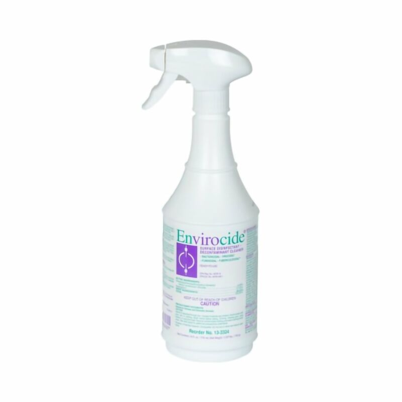 Envirocide Surface Disinfectant Cleaner 24 oz. 12 Ct
