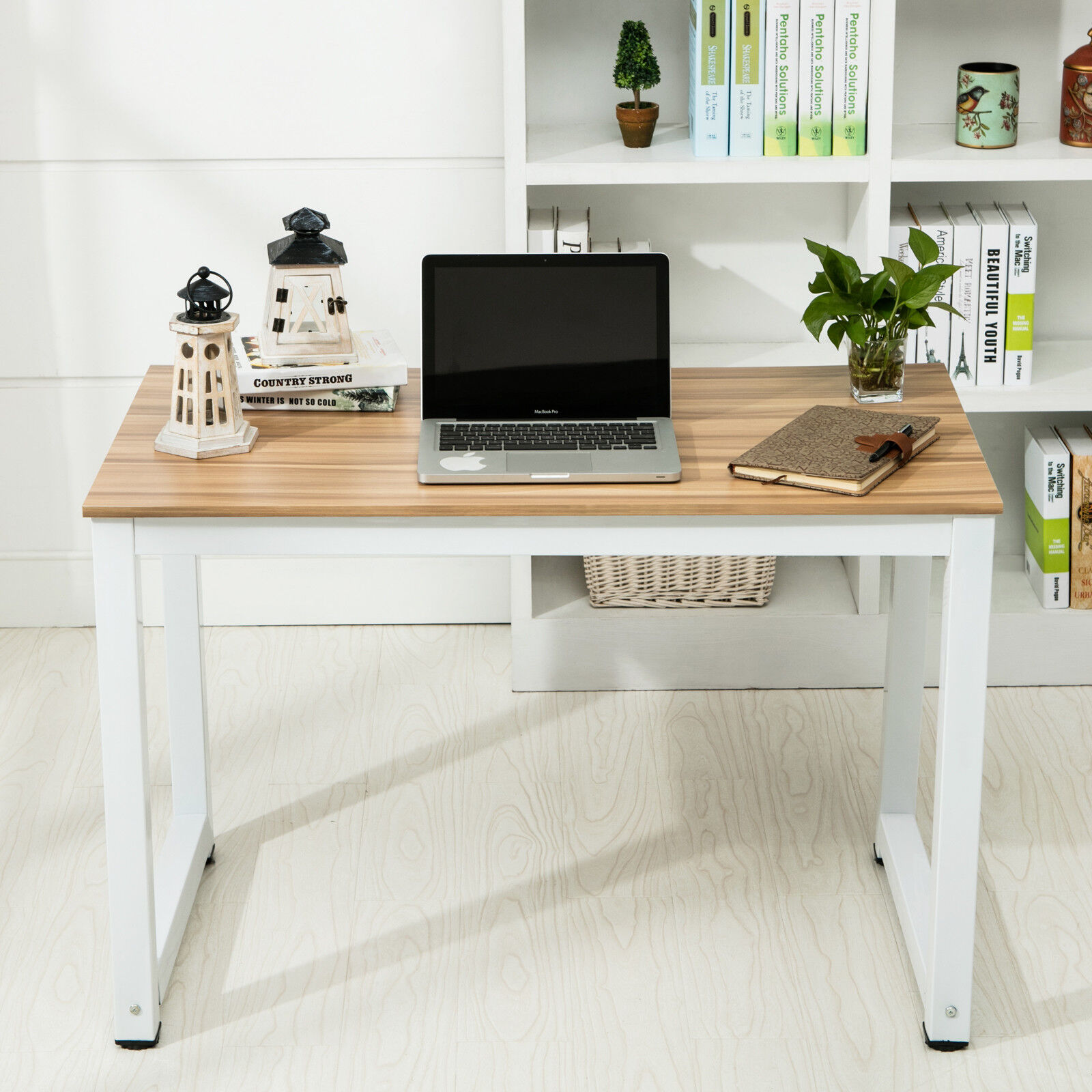 PC Computer Desk Laptop Table Wood Workstation Study Home Office Furniture New