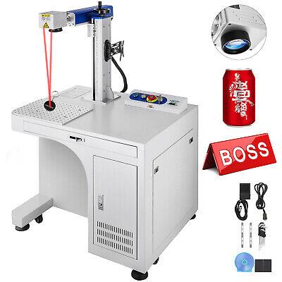 Fiber Laser Marking Machine 30w Cabinet Type Marker Metalnon-metal Engraver