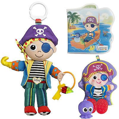 Lamaze Baby Spielzeug Babyschale Puppe Junge Pete Pirat Badebuch ab 6 Monate neu
