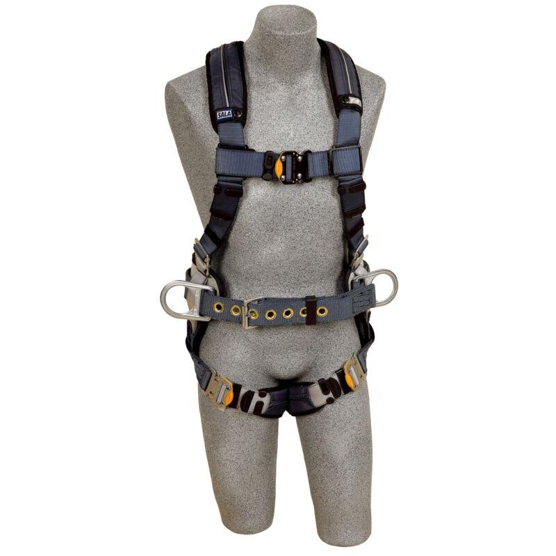 DBI Sala 1110151 ExoFit XP Construction Style Positioning Harness, Medium