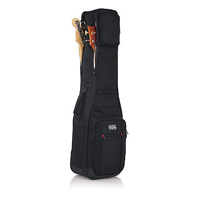 Gator Cases G-PG BASS 2X Pro-Go Ultimate Bass Guitar Gig Bag (Holds 2 Basses)