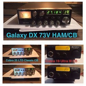 Three CB & HAM Radios for Sale… Take Them All for $305