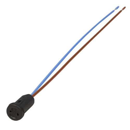 6x 12V Mini Lampen Fassung G4 Sockel m. Kabel 50W Niedervolt Halogen LED Stift