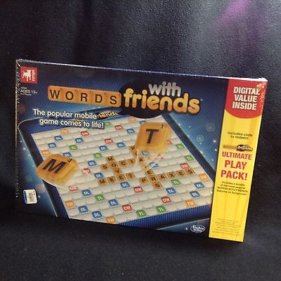 Zynga Words With Friends By Hasbro   Brand New Sealed