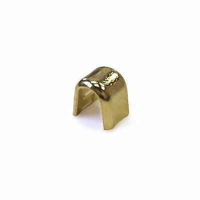 Brass Zipper Bottom Stops 10 Pack 58102-040 Tandy Leather #10