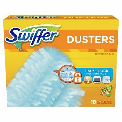 Swiffer 180 Dusters, Multi Surface Refills with Gain Scent,