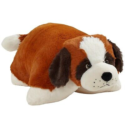 Pillow Pets Signature St. Bernard Stuffed Animal Plush -