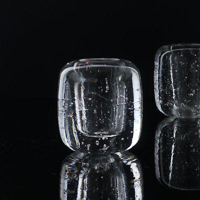 "TIMO SARPANEVA ""Arkipelago"" IITTALA Finland Glasvase rare Glass Vase"