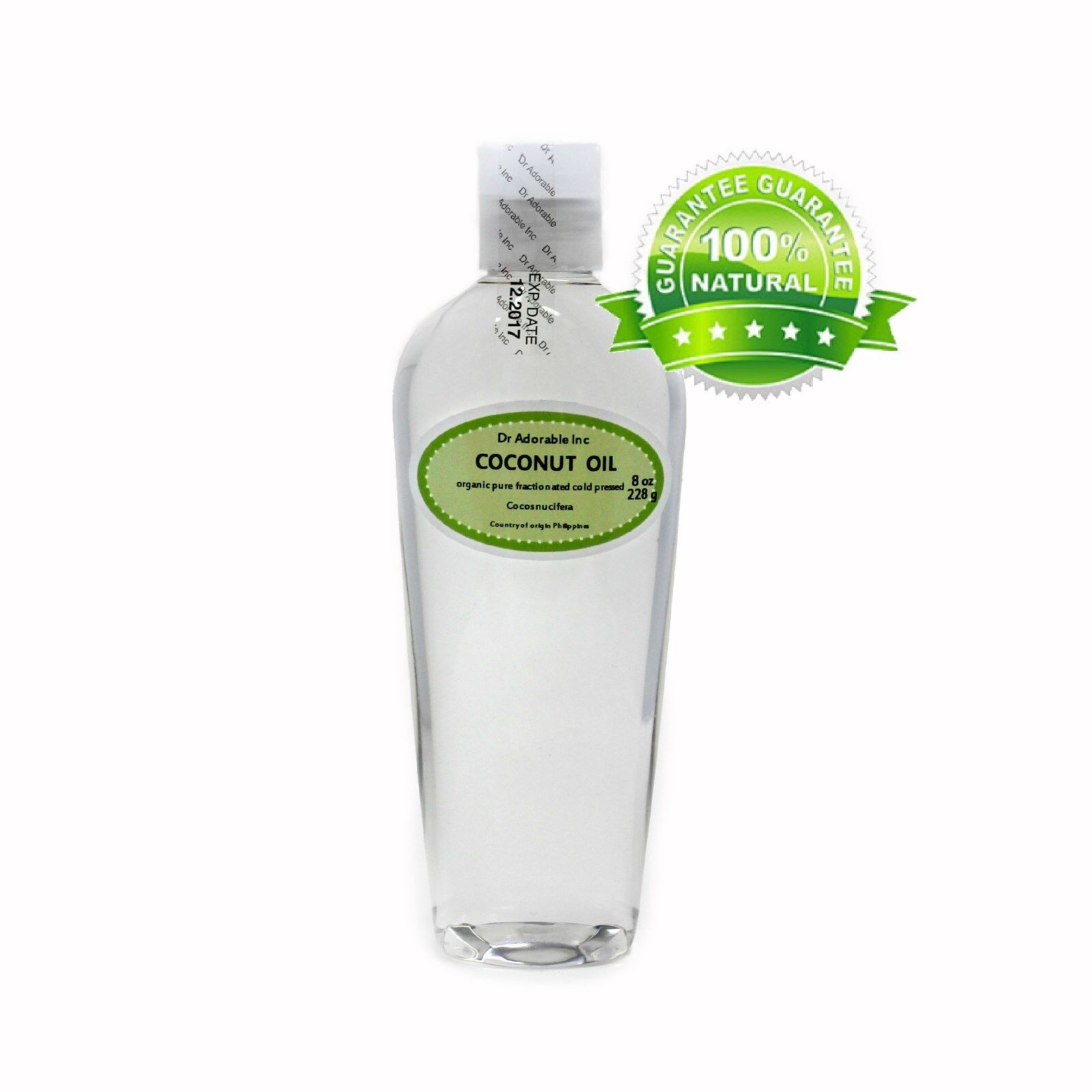 Fractionated Coconut Oil by Dr.Adorable 100% Pure Multiple S