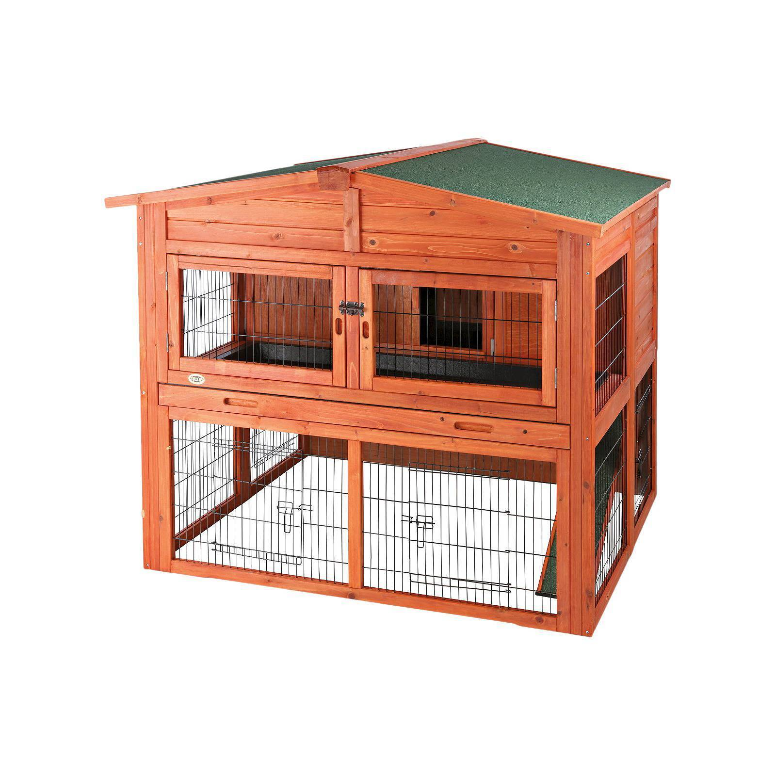 lift handmade mesh sale boyles with pin up hutch hutches rabbit housing guinea pet pig roof run for by