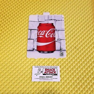 Dixie Narco 501e 276hvv Soda Vending Machine Coke 12oz Can Vend Label