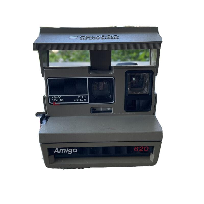 vintage rare Polaroid amigo 600 land camera Flash 620