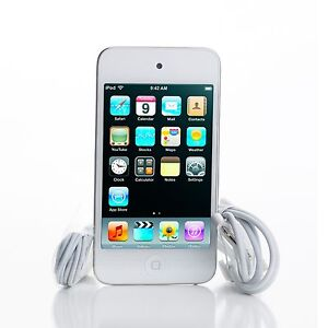Apple iPod touch 4th Generation White (8 GB) mp3 music player