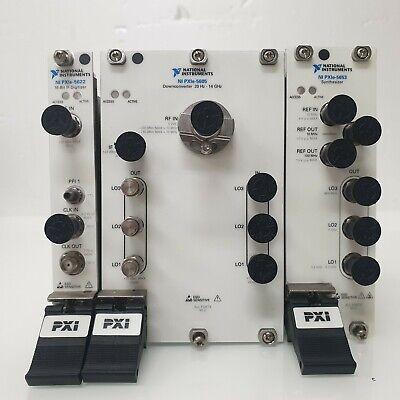 Ni Pxie-5665 High -performance Vector Spectrumsignal Analyzer Module 14ghz