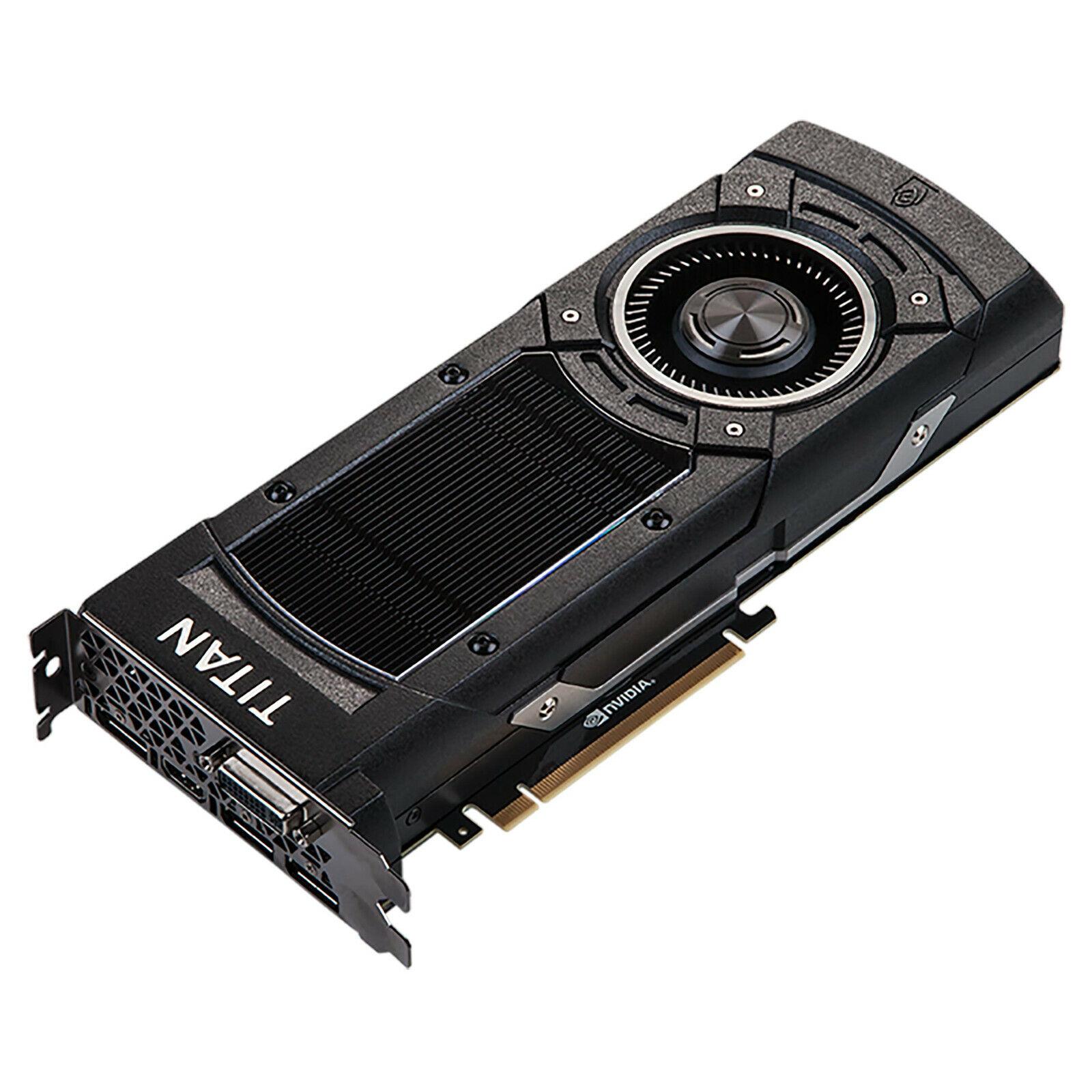 NVIDIA GeForce GTX Titan X Maxwell High-End Profi Extreme Grafikkarte 12GB GDDR5