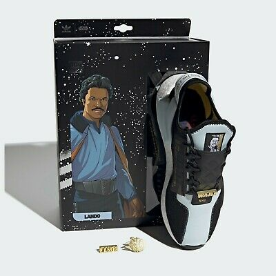 COLLECTORS ONLY × ADIDAS STAR WARS NMD_R1 V2 LANDO CALRISSIAN SHOES TRAINERS UK9