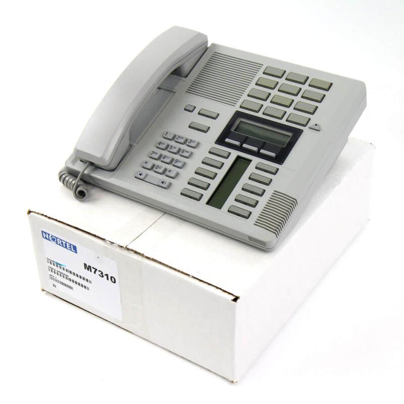 Nortel Norstar M7310 Gray Meridian Phone - Bulk