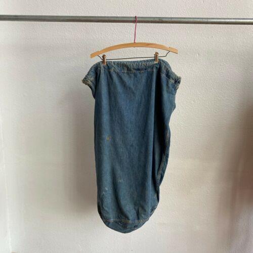 WWII USN Laundry Garment Bag Denim Selvedge Americana USA