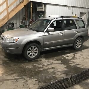 2006 Subaru Forester 5 Speed