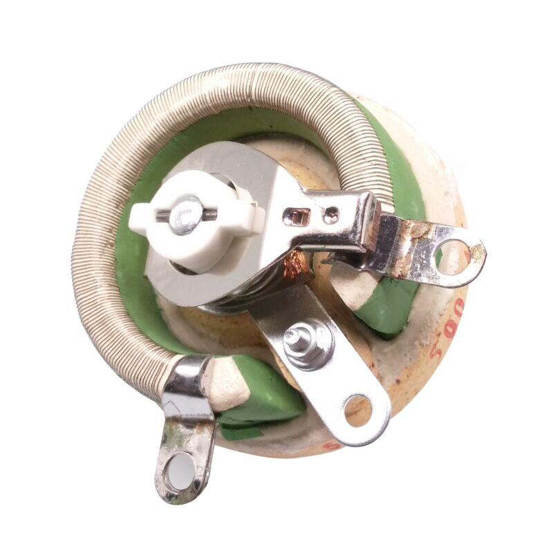 50W 500 OHM High Power Wirewound Potentiometer, Rheostat, Variable Resistor