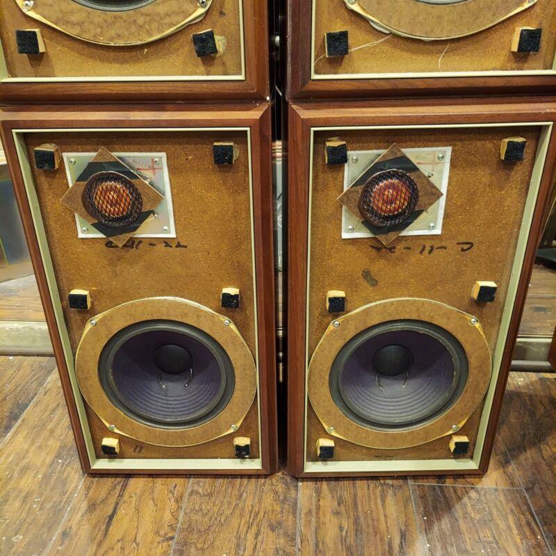 Vintage Large Advent Speakers Circa 1974
