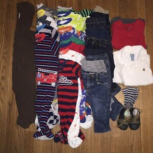 Size 6-12 month baby clothes lot