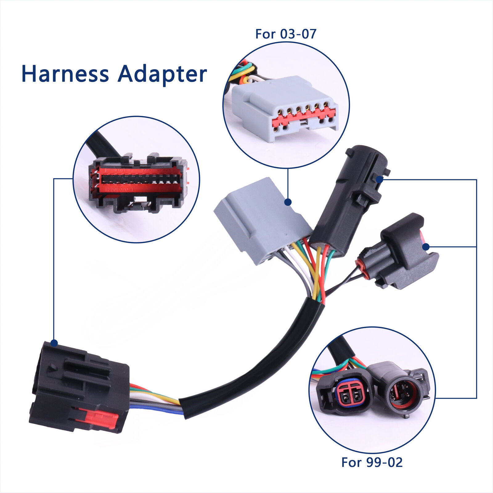 2x Wiring Harness AdapterTow Mirrors Adapter For Ford F250-F550 SuperDuty 99-07    eBay   99 Ford Super Duty Wiring Harness      eBay