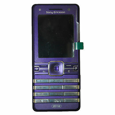 New Sony Ericsson K770I Ultra Violet Unlocked Boxed Classic Mobile Phone 3G GSM