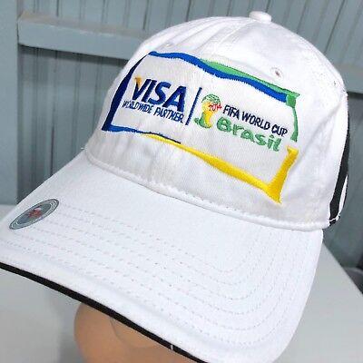 1d615164cf0 Adidas Visa FIFA World Cup Brasil Brazil Strapback Baseball Cap Hat