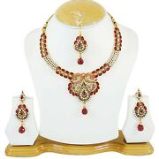 Bollywood Jewelry Set Gold