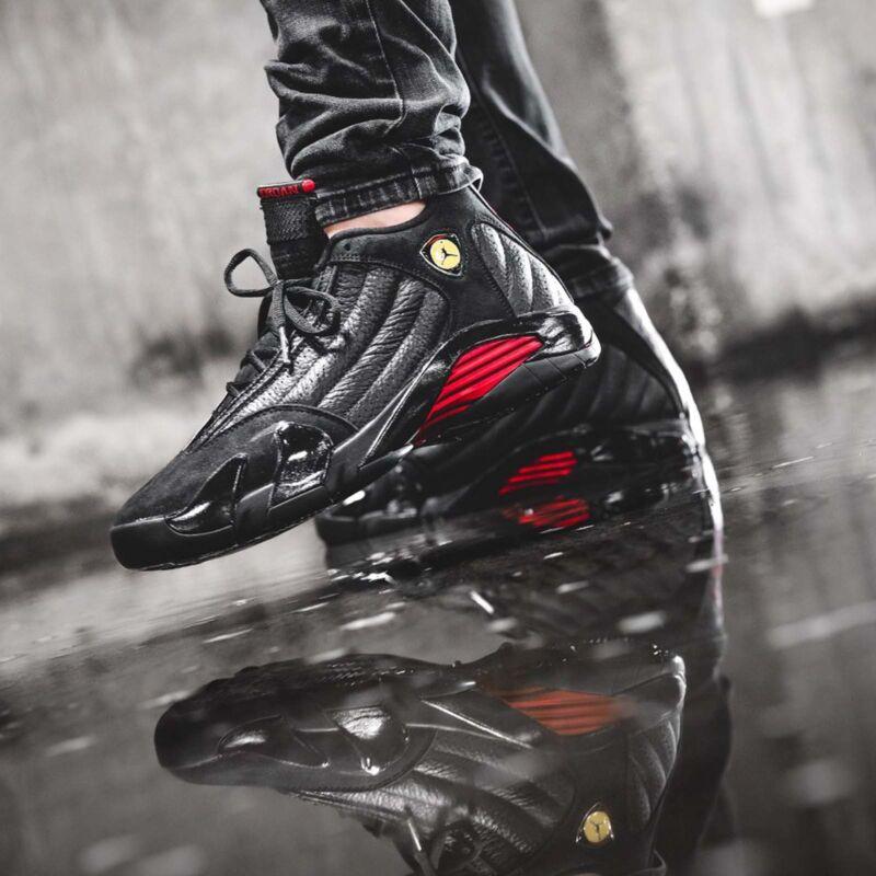 save off 10e80 c7f5b Nike Air Jordan 14 Retro XIV Last Shot Black Red Mens Womens Youth AJ14  Pick 1